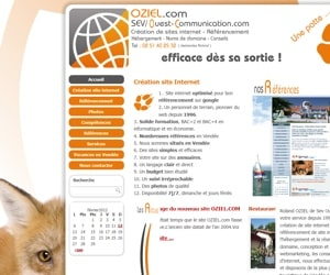 Démarrage du nouveau site Oziel.com