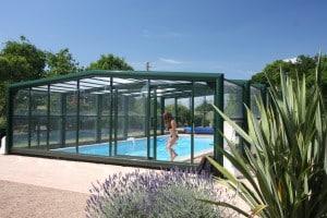 Création d'un site pour un gite avec piscine couverte en Vendée