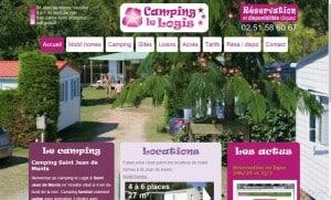 Création du site internet pour le Camping le Logis