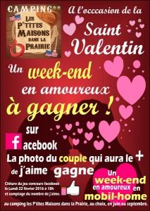 Flyer pour la Saint Valentin