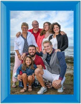Cadre photo de famille