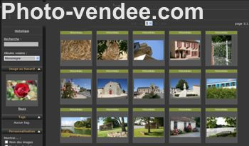 Site de photos de la Vendée