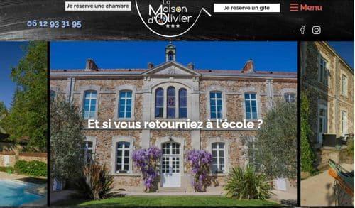 Création site internet conciergerie en Martinique